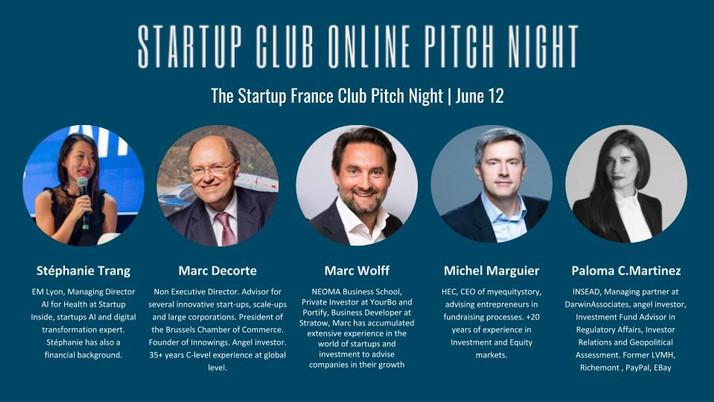 France Pitch Night Advisory Panel