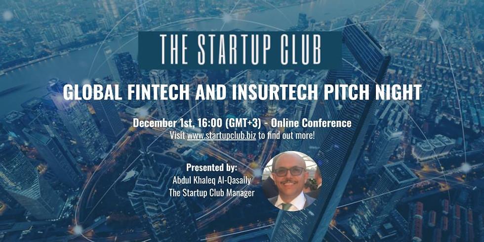 Global FinTech and InsurTech Pitch Night