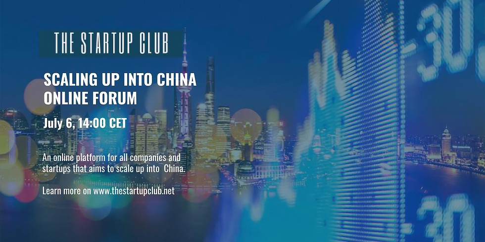 Scaling up into China Online Forum