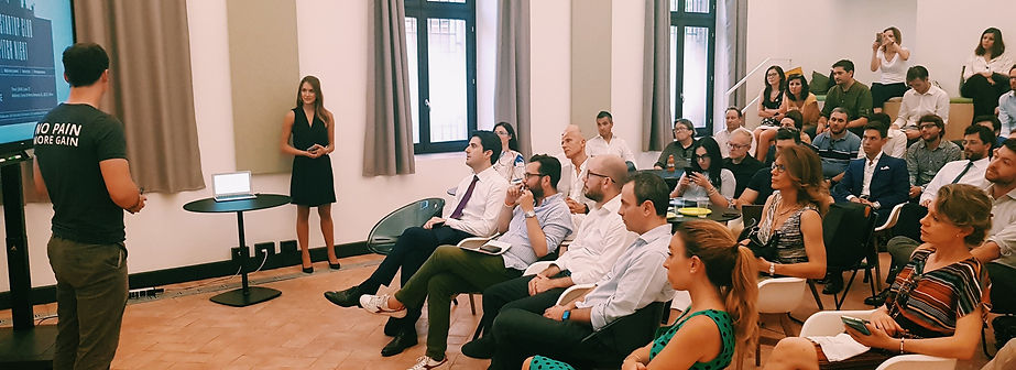The Startup Club Pitch Night in Milan