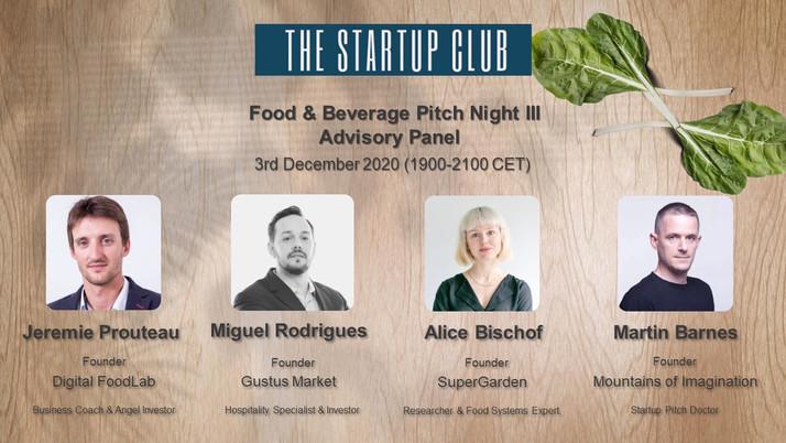 Food & Beverage III Advisory Panel