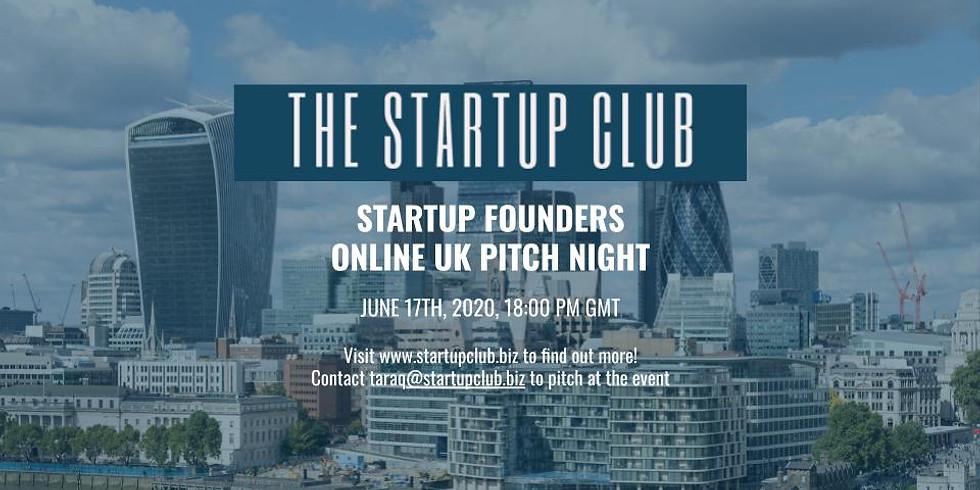 Startup UK Club Pitch Night