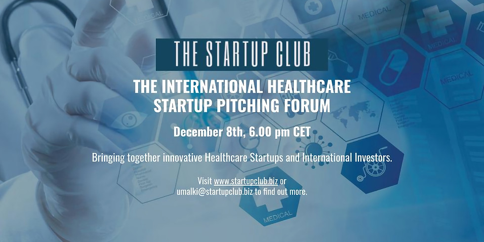 The International Healthcare Startup Pitching Forum