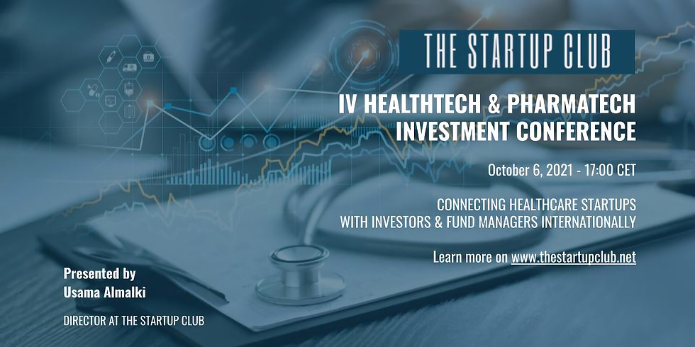 IV HealthTech & PharmaTech Investment Conference