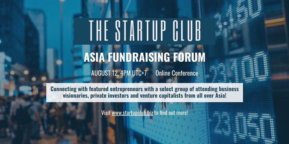 Startup Asia Club Fundraising Forum