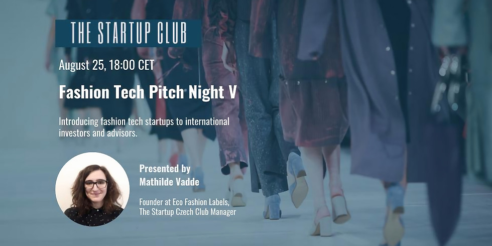 Fashion Tech Pitch Night V