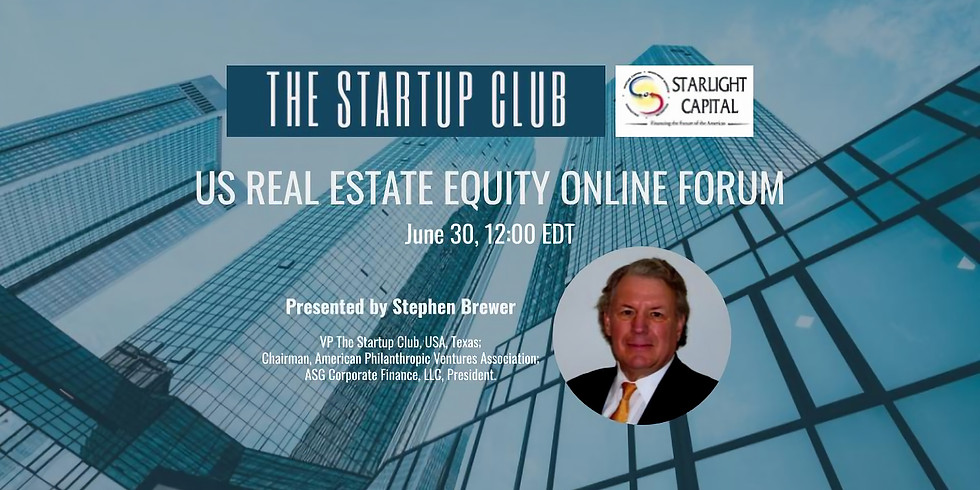 US Real Estate Equity Online Forum
