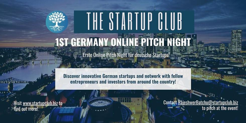 1st Germany Online Pitch Night