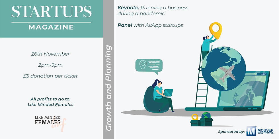 Startups Magazine: Growth and Planning