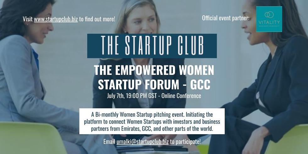 The Empowered Women Startup Forum –GCC