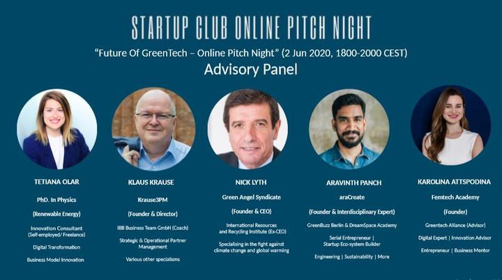 Green Tech Advisory Panel