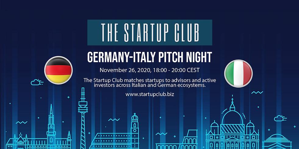 Germany-Italy Pitch Night