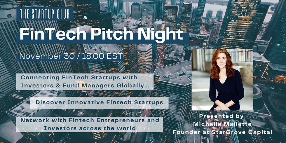 FinTech Pitch Night