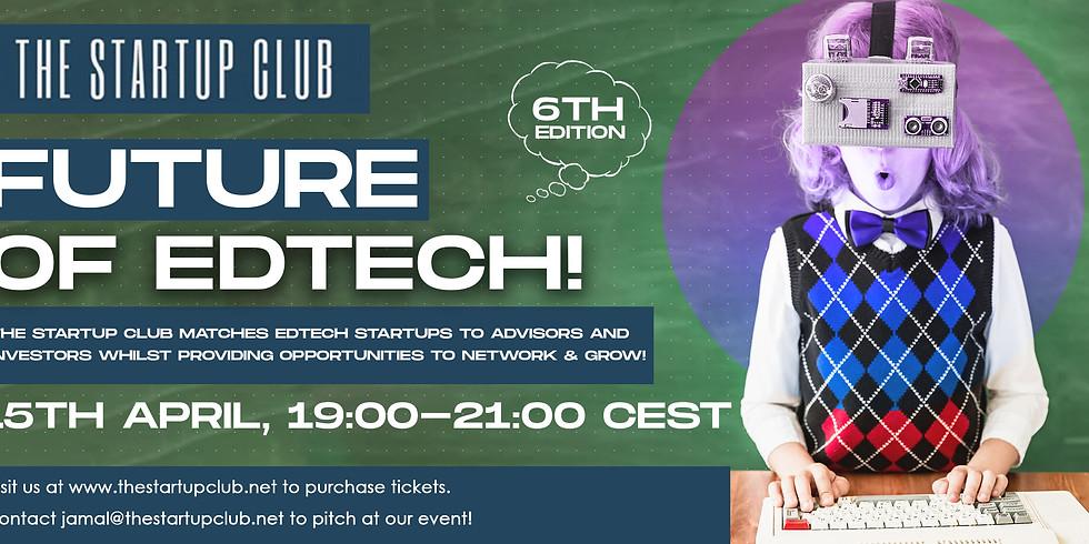 Future of EdTech VI - Online Pitch Night
