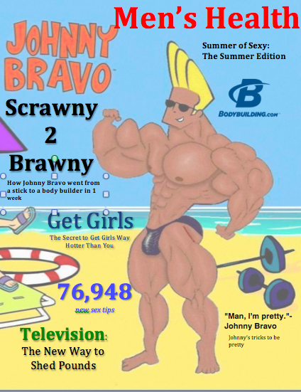 Men's Health featuring Johnny Bravo
