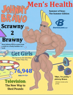 Men's Health featuring Johnny Bravo