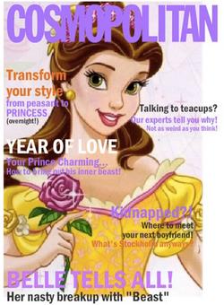 Cosmopolitan featuring Belle