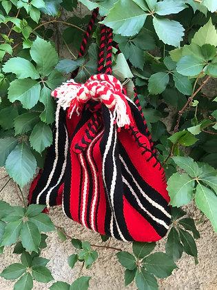 Woolen Handmade Back Sack By Nektaria