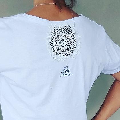 Undina T-shirt Short Sleeve Cotton Personalized