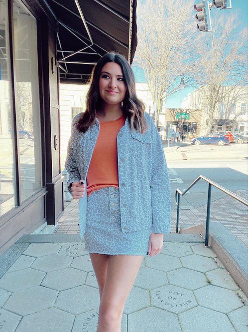Windsor Button Fly Skirt