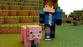 Minecraftのゲーマー