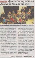 """""""Le Progrès"""" 25/02/14"""