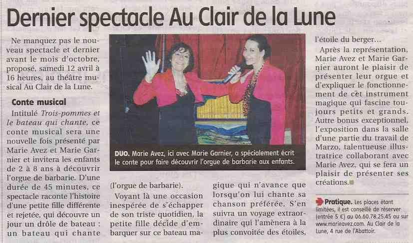 """""""Le Pays Roannais"""" 10/04/14"""