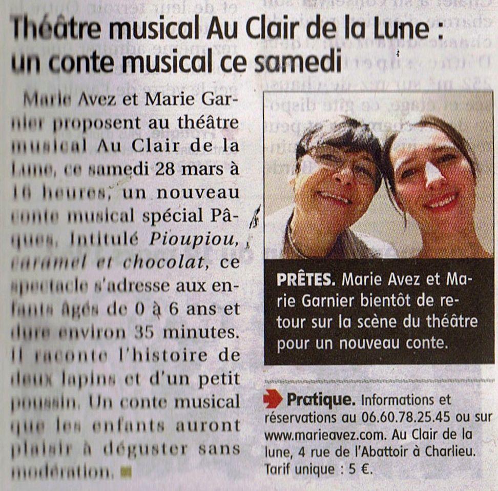 """""""Le Pays Roannais"""" 26/03/15"""