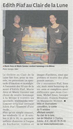 """""""Le Progrès"""" 04/10/13"""