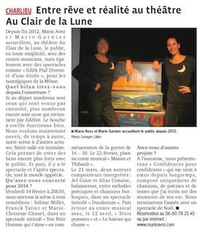 """""""Le Progrès"""" 04/02/14"""