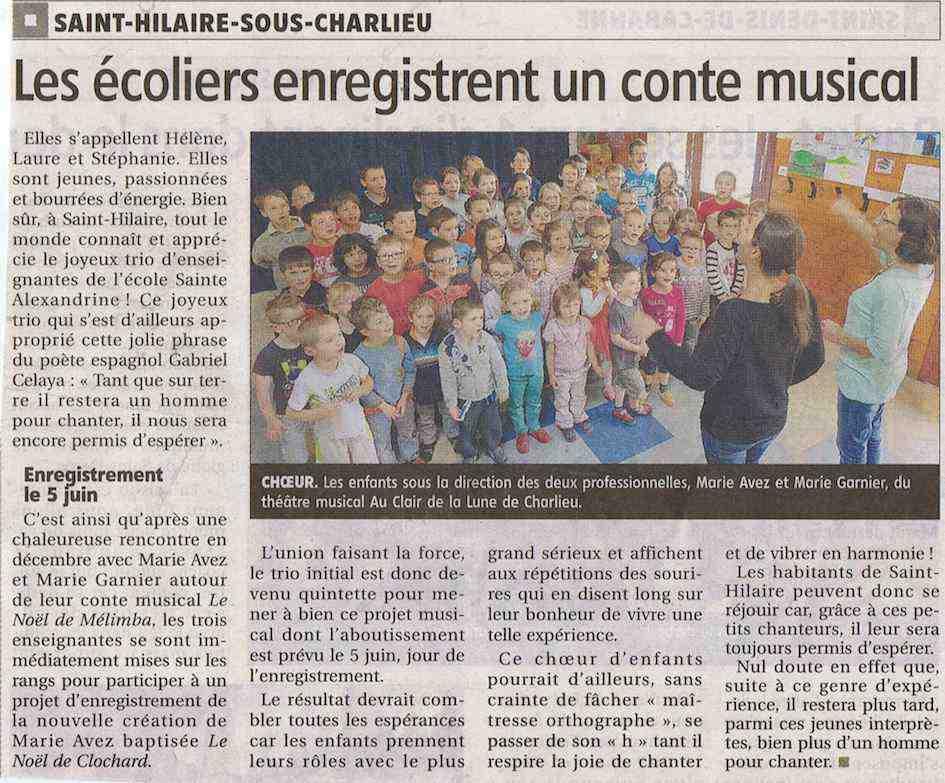 """""""Le Pays Roannais"""" 05/06/14"""