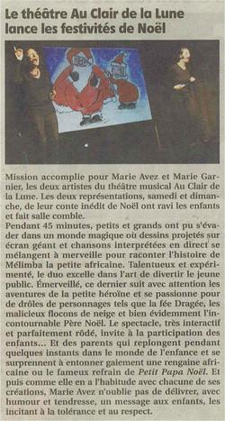 """""""Le Pays Roannais"""" 19/12/13"""