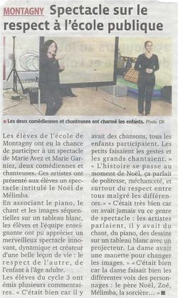 """""""Le Progrès"""" 01/12/13"""