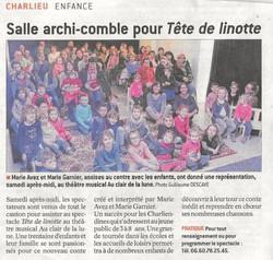 """""""Le Progrès"""" 08/03/17"""
