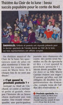 """""""Le Pays Roannais"""" 18/12/14"""