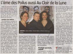 """""""Le Pays Roannais"""" 21/02/14"""