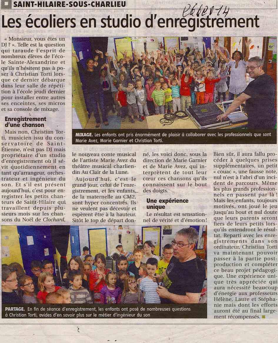 """""""Le Pays Roannais"""" 26/06/14"""