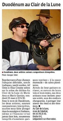 """""""Le Progrès"""" 20/03/14"""