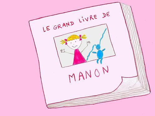Le grand livre de Manon (Version CD)