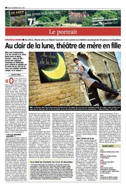 """""""Le Pays Roannais"""" 11/12/14"""
