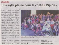 """""""Le Progrès"""" 20/05/15"""
