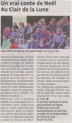 """""""Le Progrès"""" 17/12/14"""