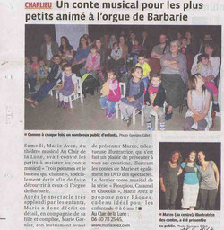 """""""Le Progrès"""" 15/04/14"""