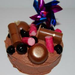 Chocolate Bourbon Cake