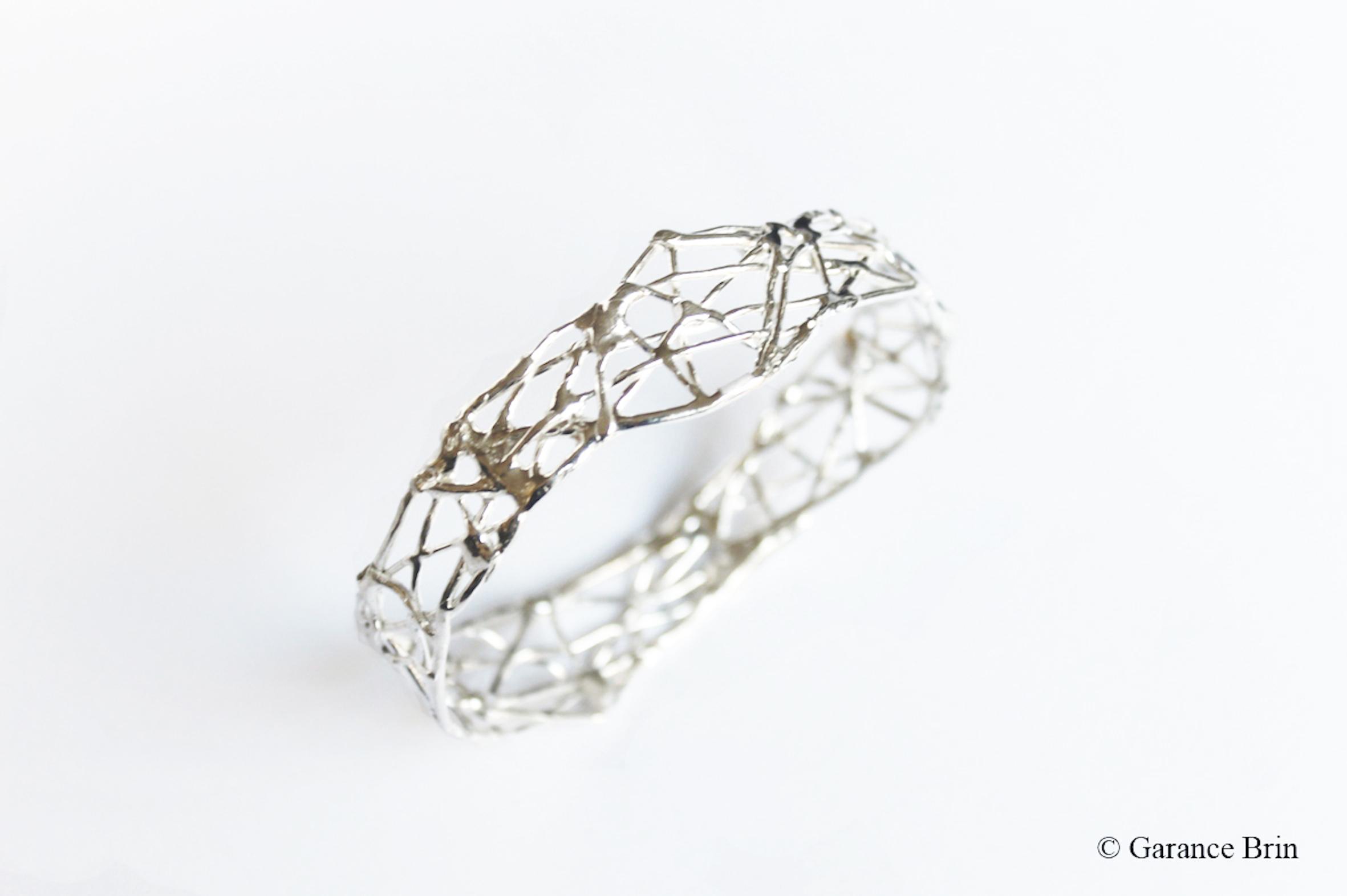 Bracelet brut de toile G BRIN