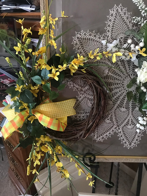 Small Grapevine Wreath Examples