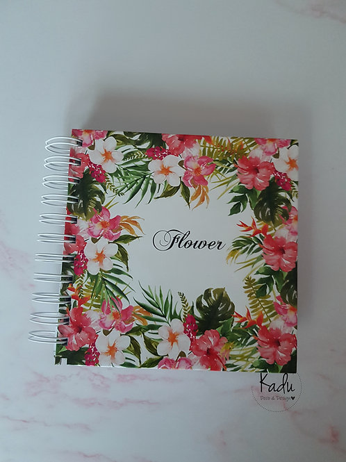 Cuaderno Pocket Flower