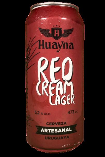 Red Cream Lager 473ml