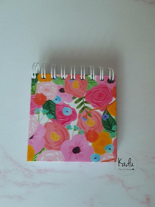 Mini Block Flores