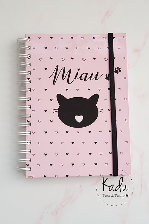 Cuaderno Miau